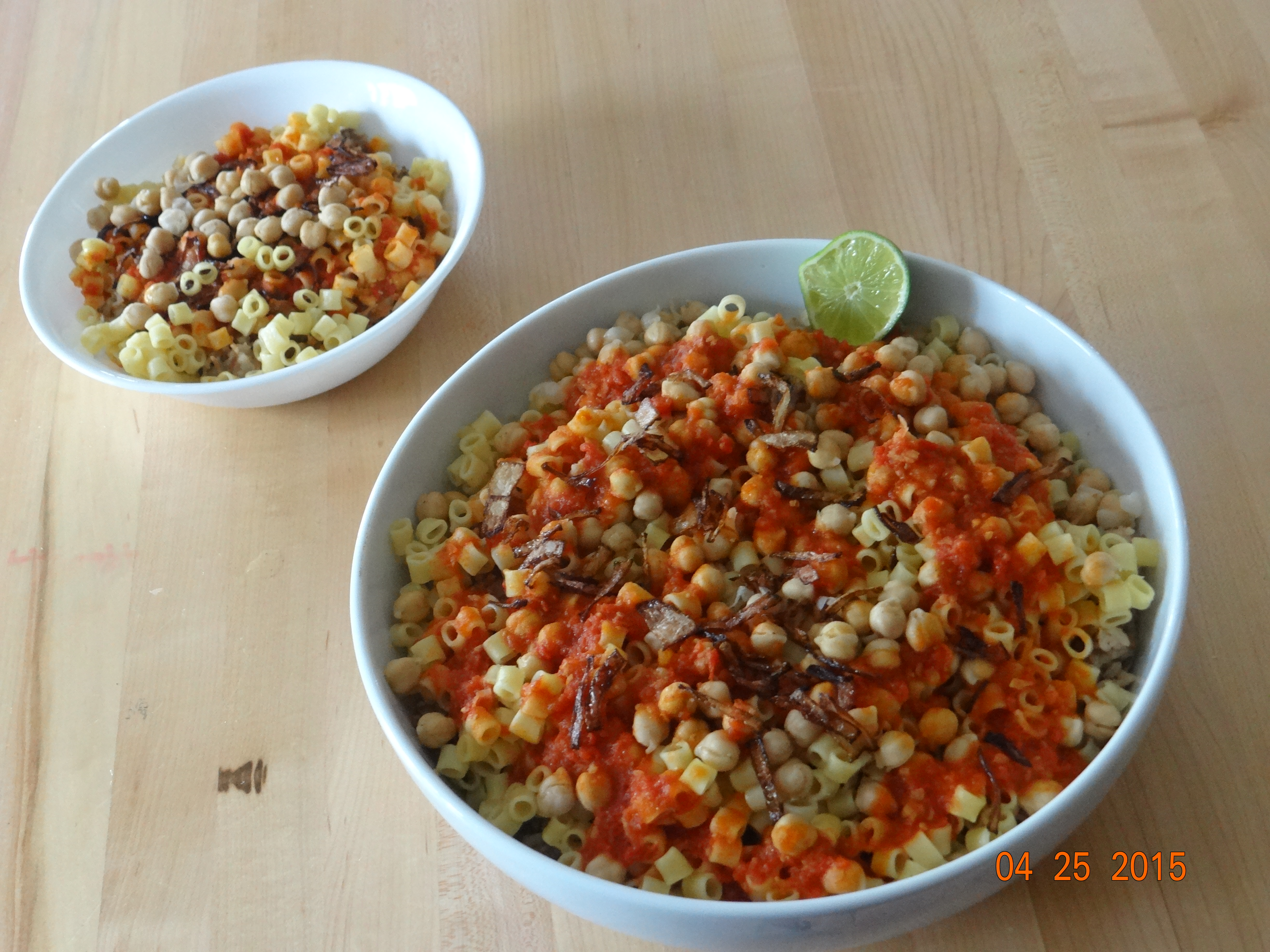 The national dish of egypt koshari scarf gal food dsc00736 forumfinder Gallery